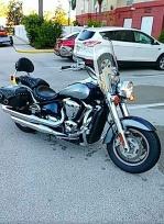 Мотоцикл Круизёр Kawasaki