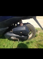 Мотоцикл Скутер Suzuki Lets 2