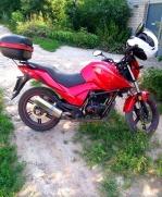 Мотоцикл Стритбайк Bashan Pilot