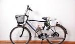 Мотоцикл Велосипед Самоделка
