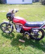 Мотоцикл Стритбайк мустанг мт150-5